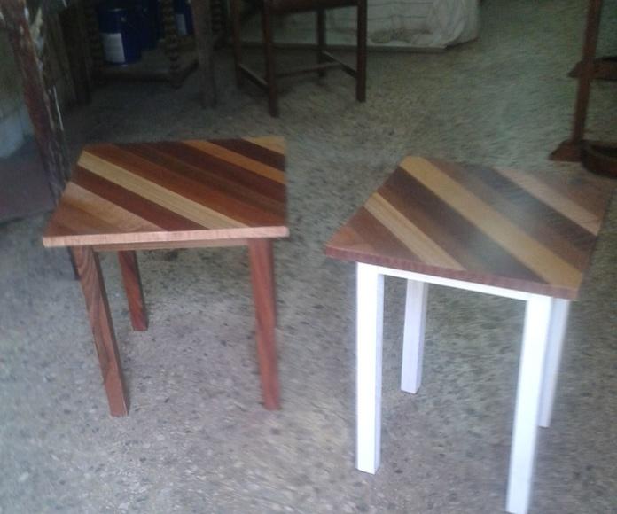 Mesas auxiliares