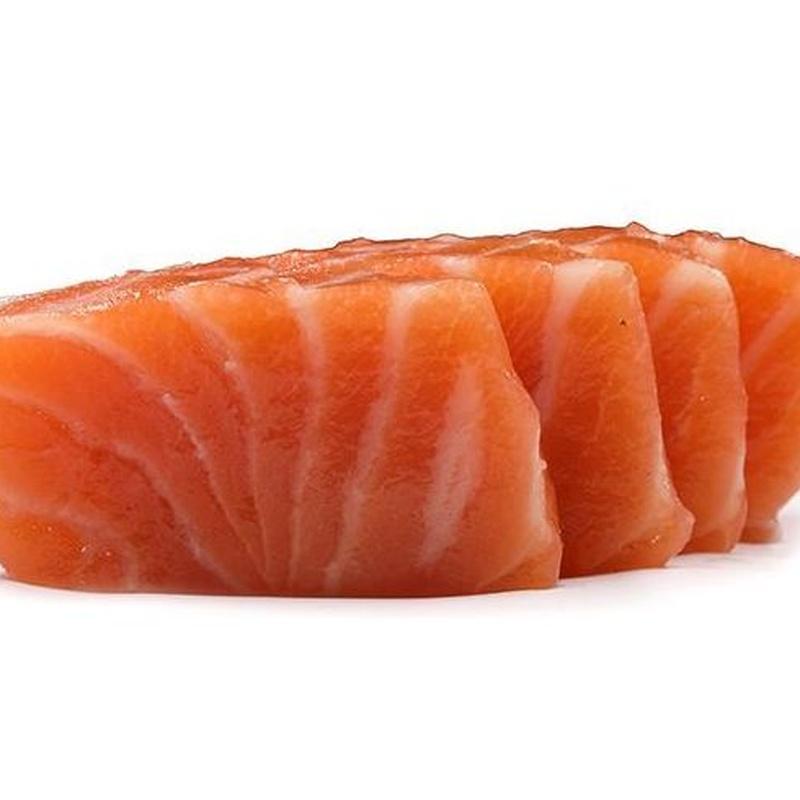 Sashimi de salmón: Carta de Sushi Time Buffet Libre