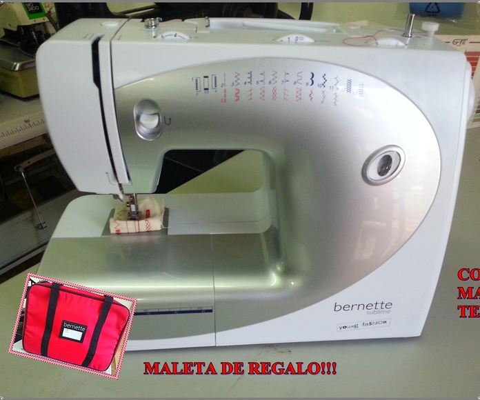MÁQUINA DE COSER DOMÉSTICA BERNETTE: Catálogo de Co.Ma.Tex.