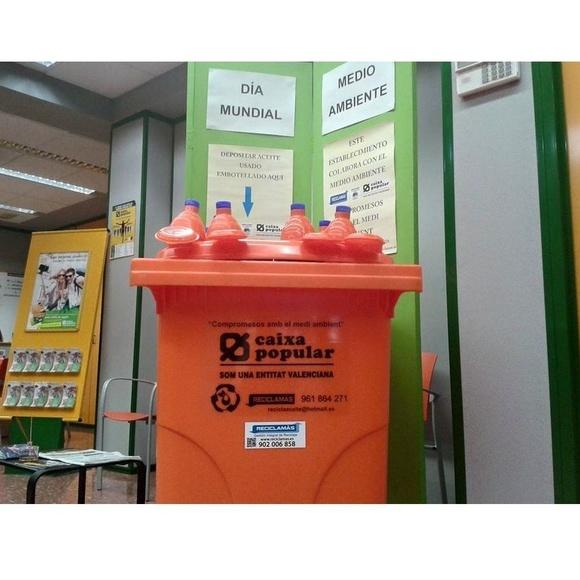 Servicio de recogida: Servicios de Reciclaceite
