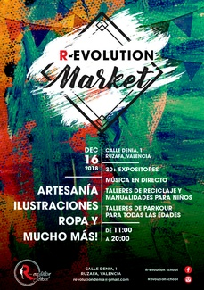 R-evolution Market, Mercado Navideño en R-evolution School