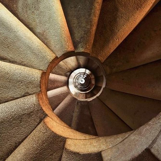 Tipos de escaleras