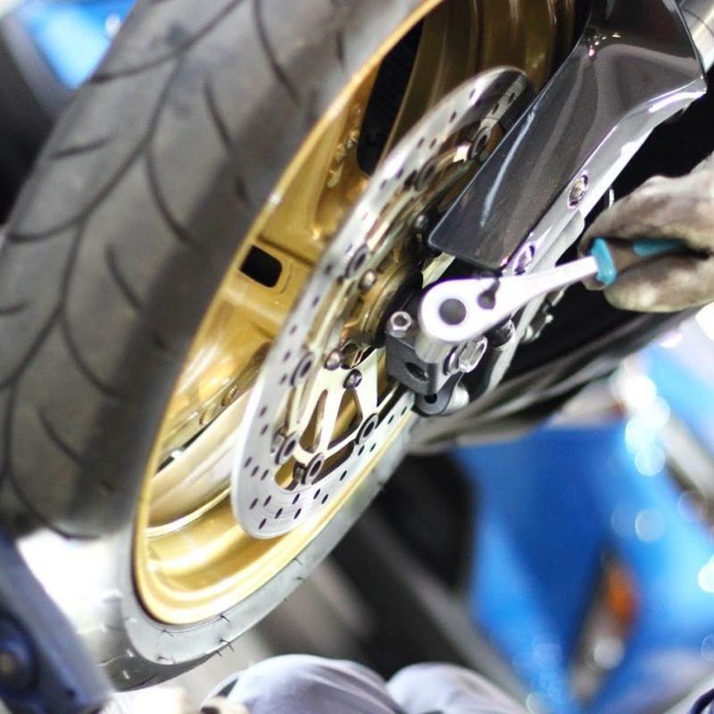 Taller de motos: Servicios de Bizkor Autoak
