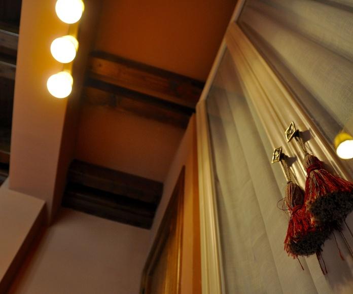 Dormitorio apartamento Torla.