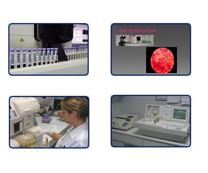 Análisis clínicos: Farmacia y laboratorio de Farmacia y Laboratorio clínico Joaquín Blanco y Ana Albalat