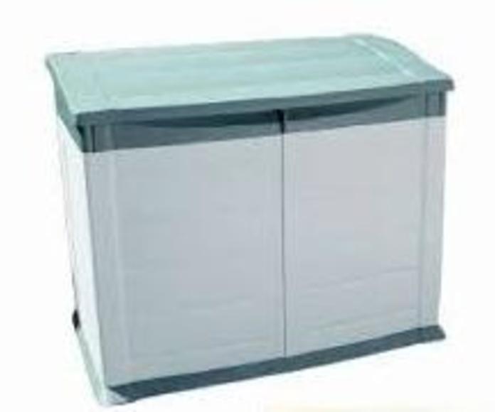 armario de poliester cerrado para depuración de superficie