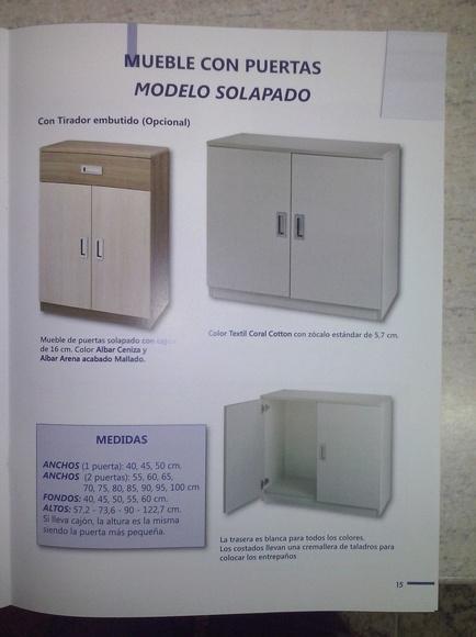 Puertas de armarios de cocina: Productos de Tycmasa