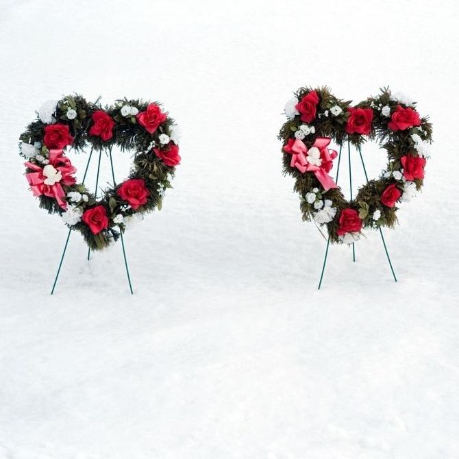 Cómo se hace una corona funeraria (I)