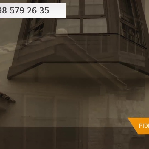 Barandillas de cristal con precios en Oviedo | Alusiero Carpintería de Aluminio