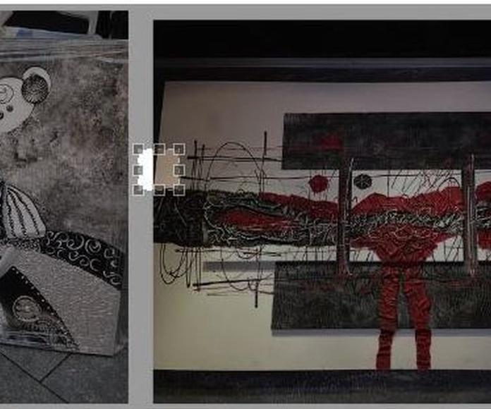 Exposición de Cuadros pintados a mano y por encargo: Productos y servicios de Imm`art