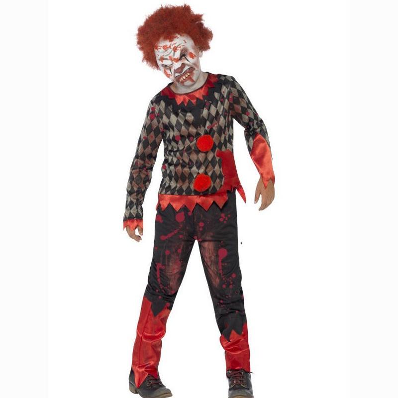 Disfraz payaso zombie