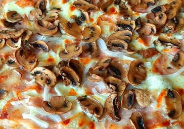 Pizza francesca