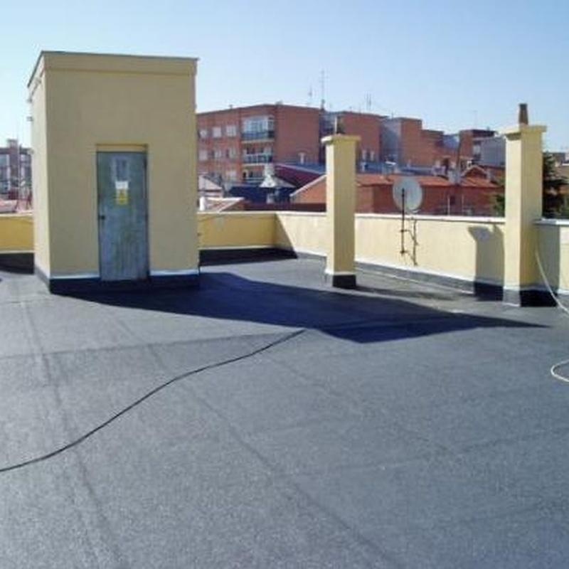 Impermeabilización y rehabilitación de cubiertas: Servicios de Cosual Obras Y Servicios, S.L.