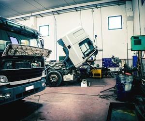 Reparacion de estructura de las cajas de camiones