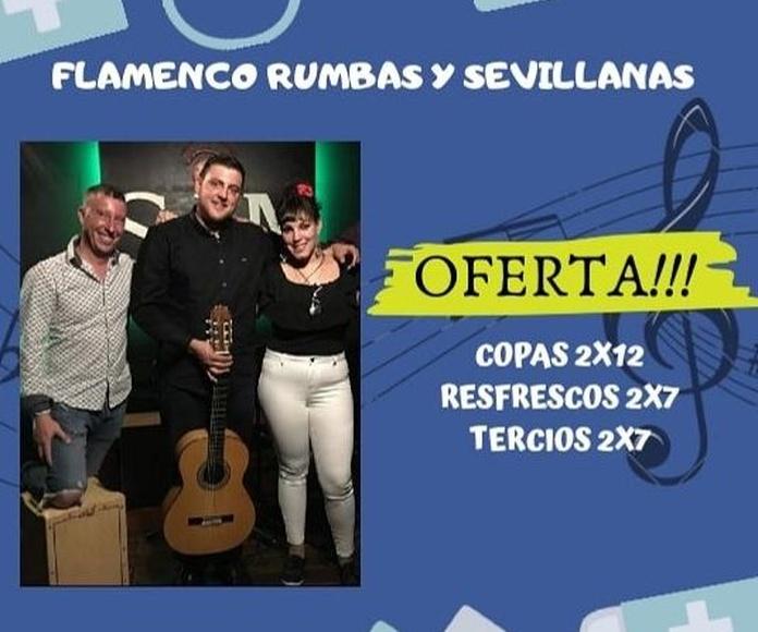 Flamenco, Rumbas y Sevillanas