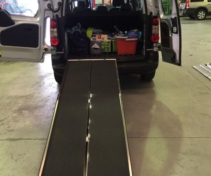 Rampas plegables de maleta, otra solución de Cabal Automoción Bosch Car Service