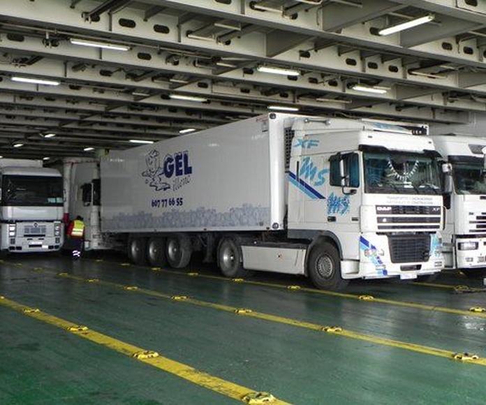 Transportes frigoríficos: Servicios de Transportes Miguel Socias e Hijos