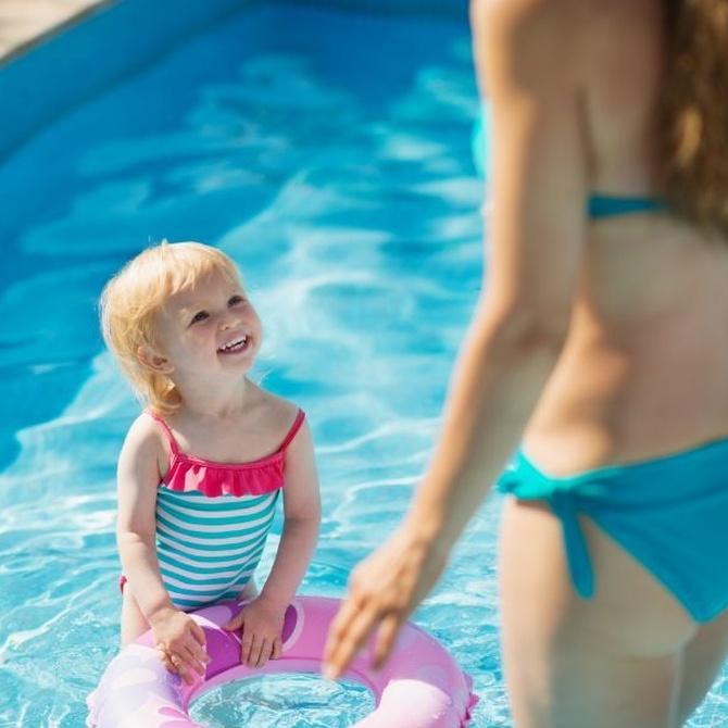 6 consejos para el disfrute de los niños en la piscina