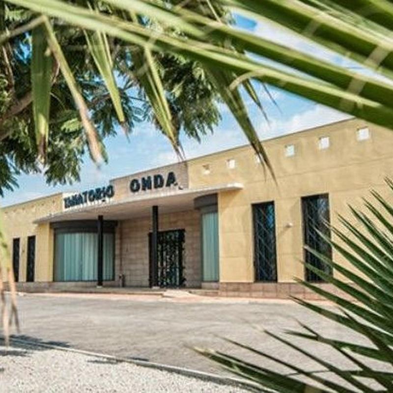 Instalaciones tanatorio Onda: Servicios de FUNERARIA MARCO