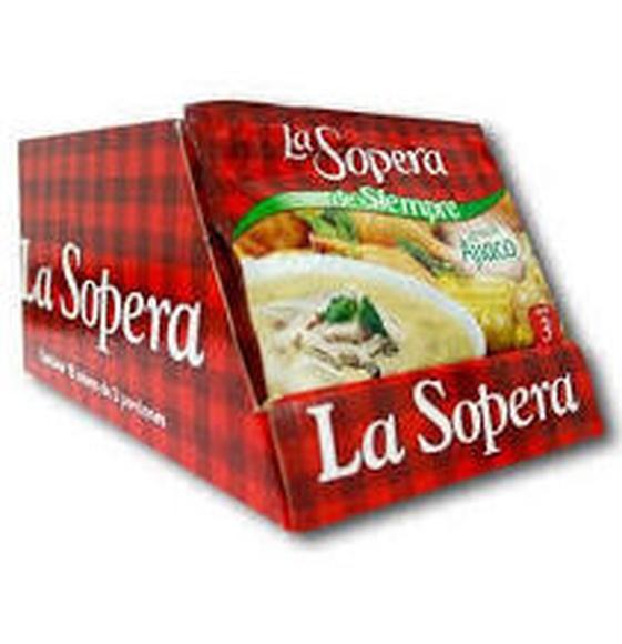 La Sopera crema de ajiaco: PRODUCTOS de La Cabaña 5 continentes