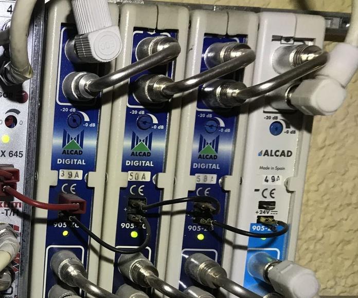 Servicio de mantenimiento de antenas en Barrio del Pilar