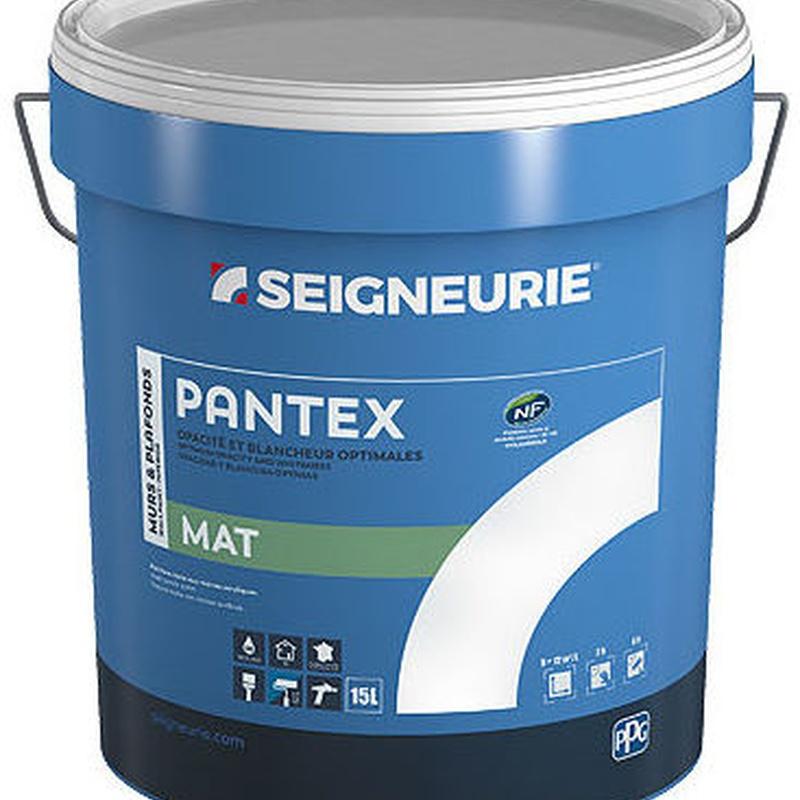 PANTEX MAT de SEIGNEURIE en almacén de pinturas en pueblo nuevo