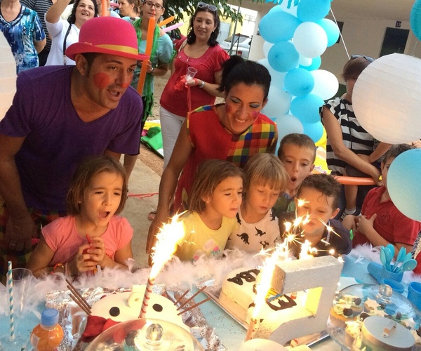 Celebración de eventos y cumpleaños