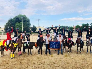 Éxitos en el Campeonato de España de ponis de CCE 2018