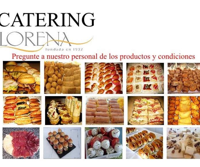 lista de catering