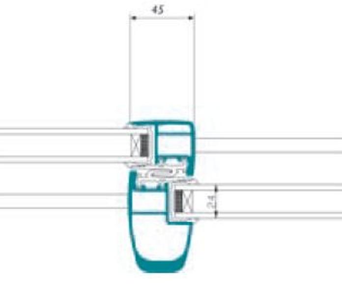 Corredera K-Line KLC 2 raíles: Productos de Catal Pur