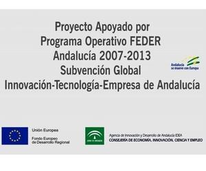Proyecto apoyado por programa operativo FEDER Andalucía