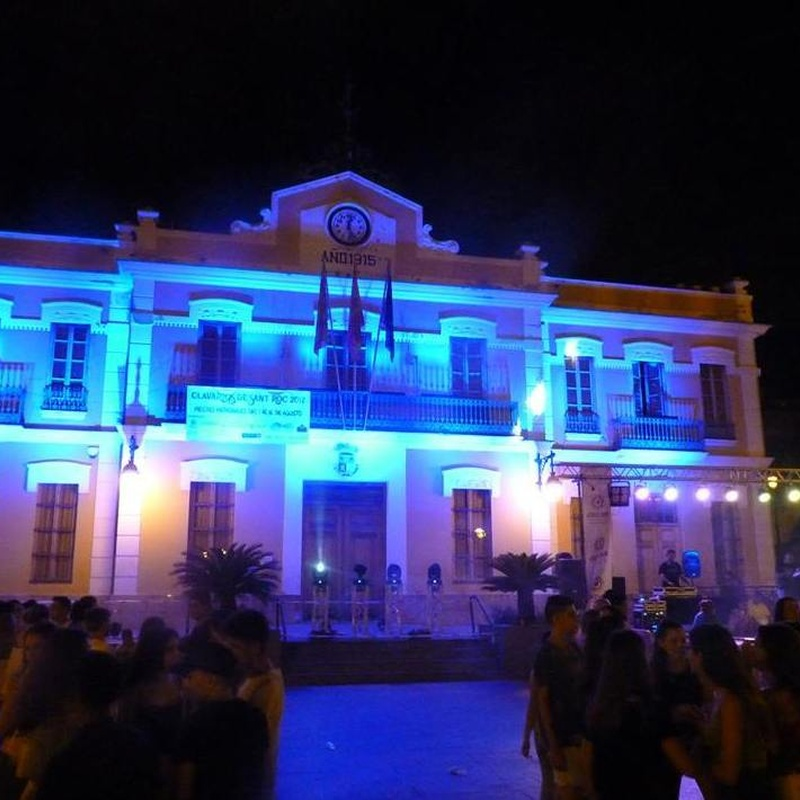 iluminacion y sonido para fachadas y monumentos: Nuestros servicios de Jukeval Eventos