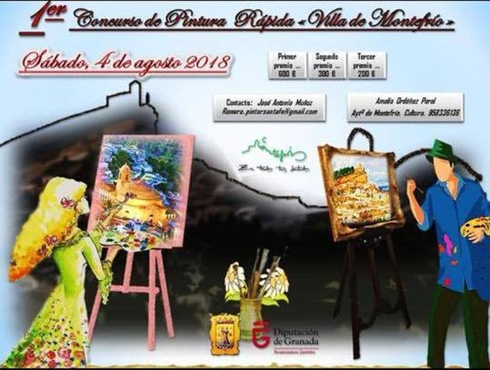 Concurso de pintura en Montefrío