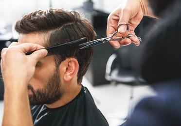 Corte y peinado clásico