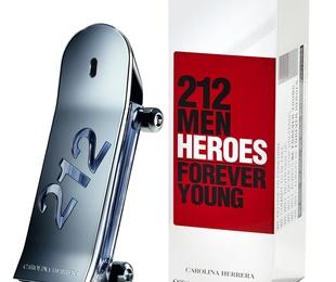 Nuevo lanzamiento CAROLINA HERRERA 212 MEN HEROES - SKATE