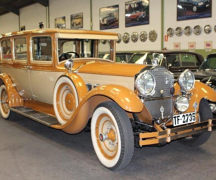 Packard año 1928: Nuestros vehículos de HM LUXURY TRANSPORT