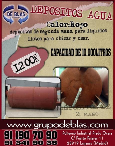 DEPÓSITOS DE AGUA: Catálogo de Autodesguaces De Blas