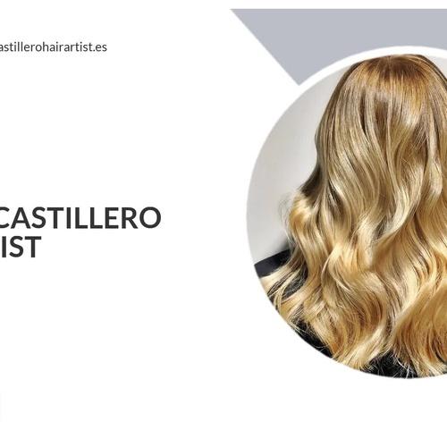 Estilistas y peluqueros en Granada | Álvaro Castillero Hair Artist