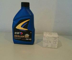 aceite y filtro 10w40 45€