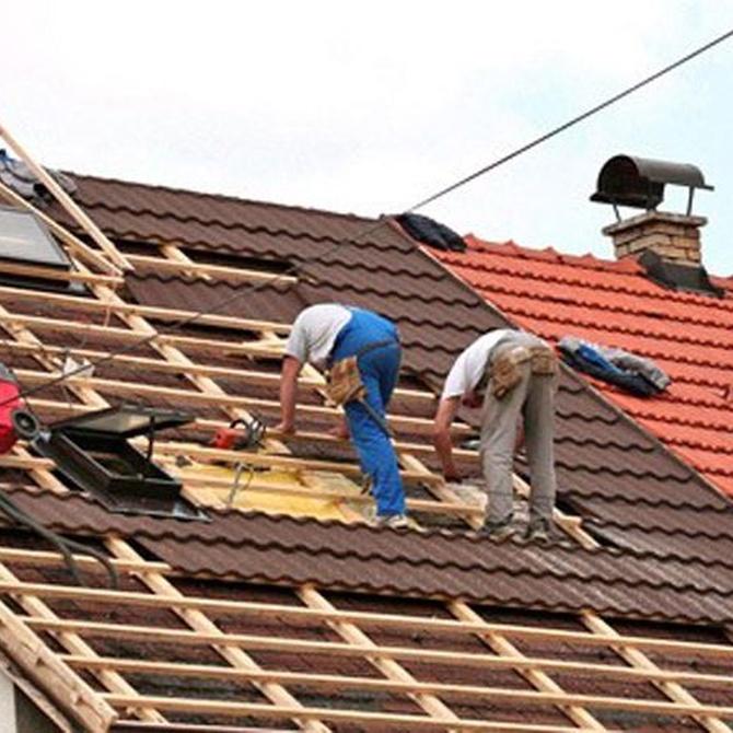 ¿Por qué hay que rehabilitar los tejados?