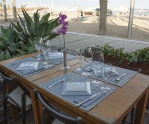 Irresistible cocina mediterránea frente al mar