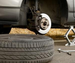 Cambio de ruedas en Badalona