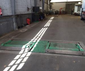 Taller mecánico de vehículos industriales y vehículos pesados