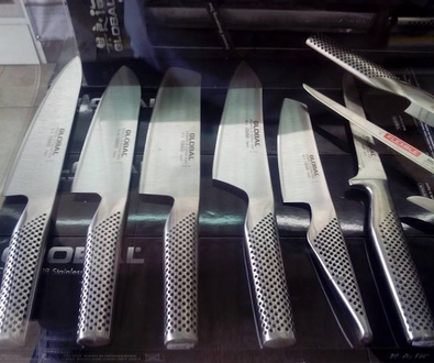 Venta de cuchillos Global Quality en Figueres