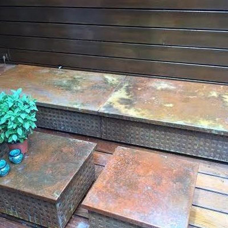Soportes metalicos para exterior