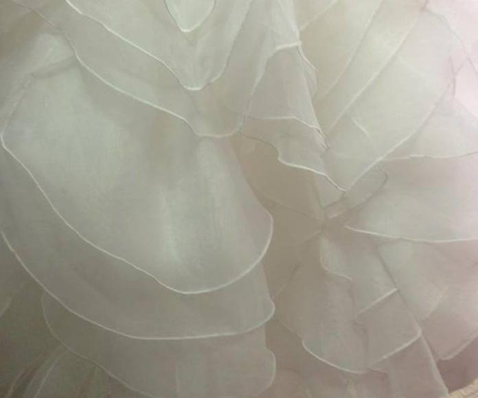 Limpieza de vestidos de novias en Barcelona