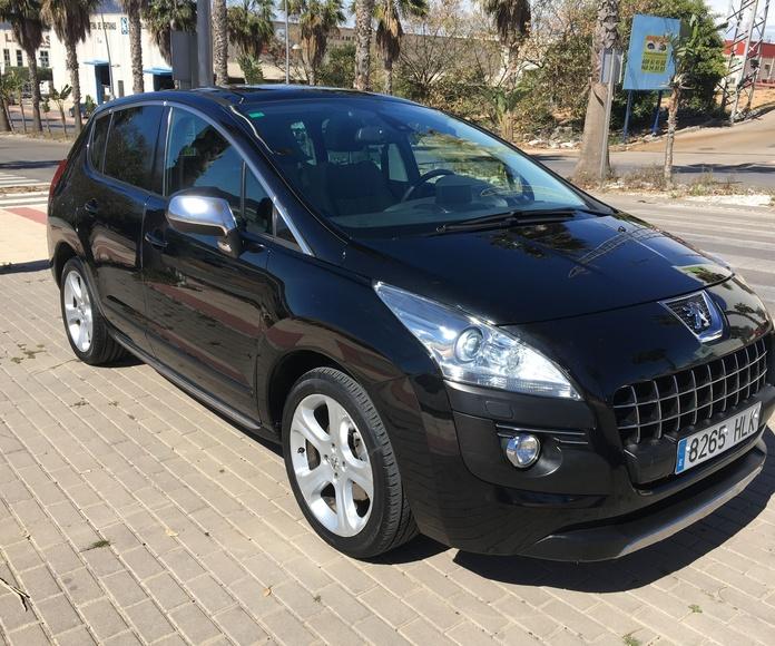 PEUGEOT 3008 HDI: COCHES DE OCASION de Navirent-Automóviles Parque Mediterráneo