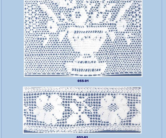 Encaje Bolillo: Catálogo de Punto & Costura