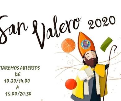 DÍA DE SAN VALERO