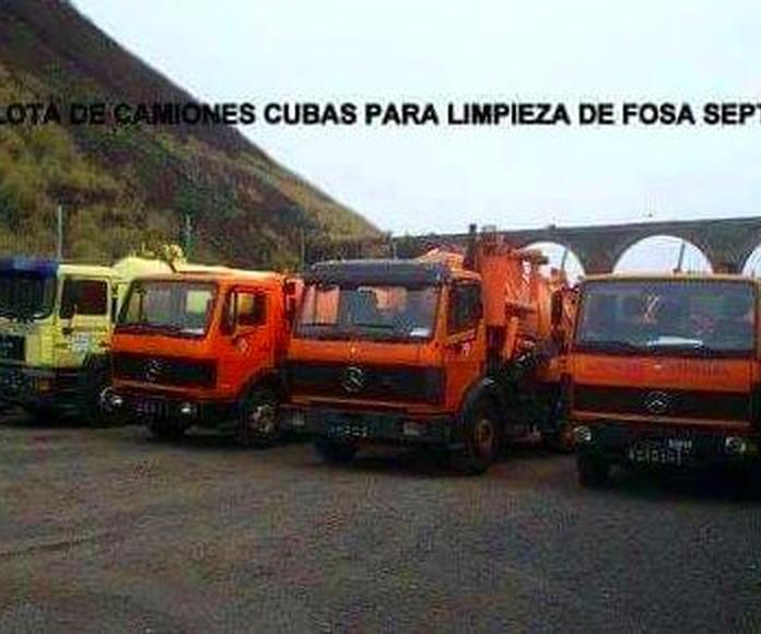 Limpiezas de fosas sépticas en Puerto de la Cruz